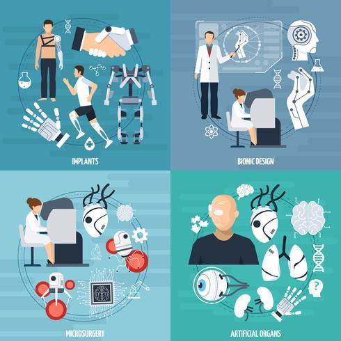 Modello moderno di Bionics