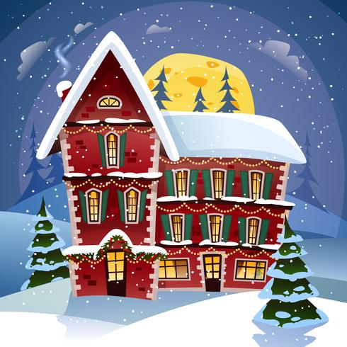 Manifesto di notte di Natale