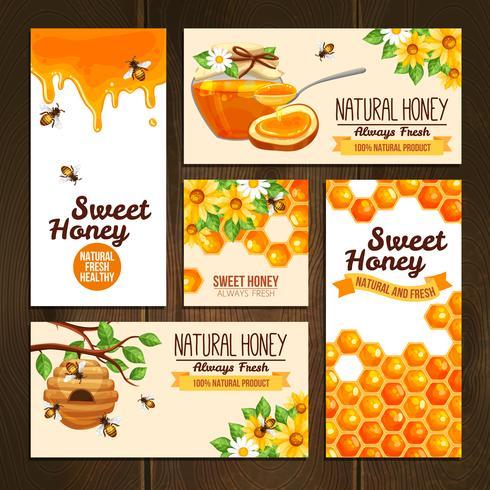 Honey Advertising Banners