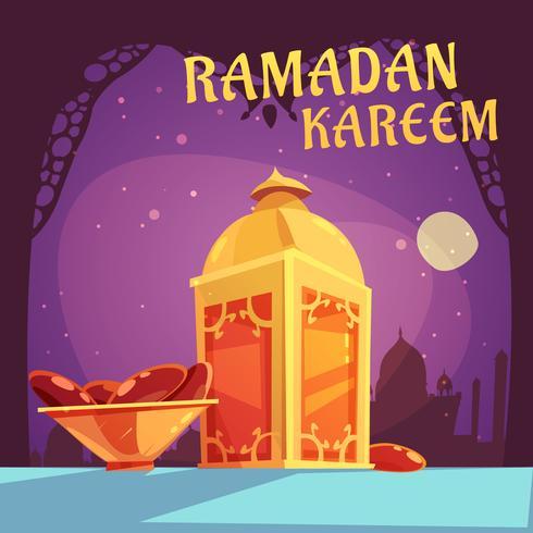 Ramadán Iftar Ilustración