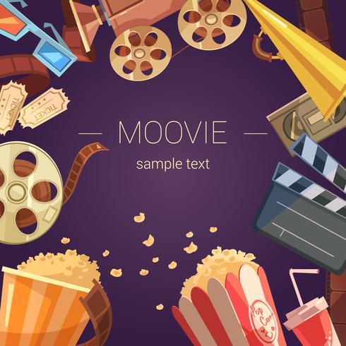 Movie Background Illustration  vector