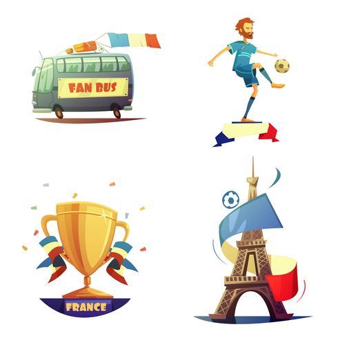 Championnat de football 2016 vecteur