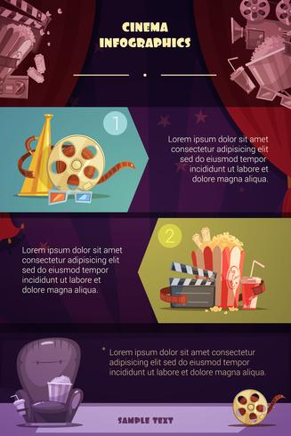bioscoop infographic set