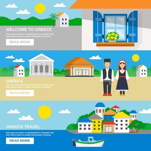Grekland Banner Set