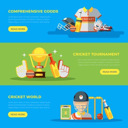 cricket wereldbanners