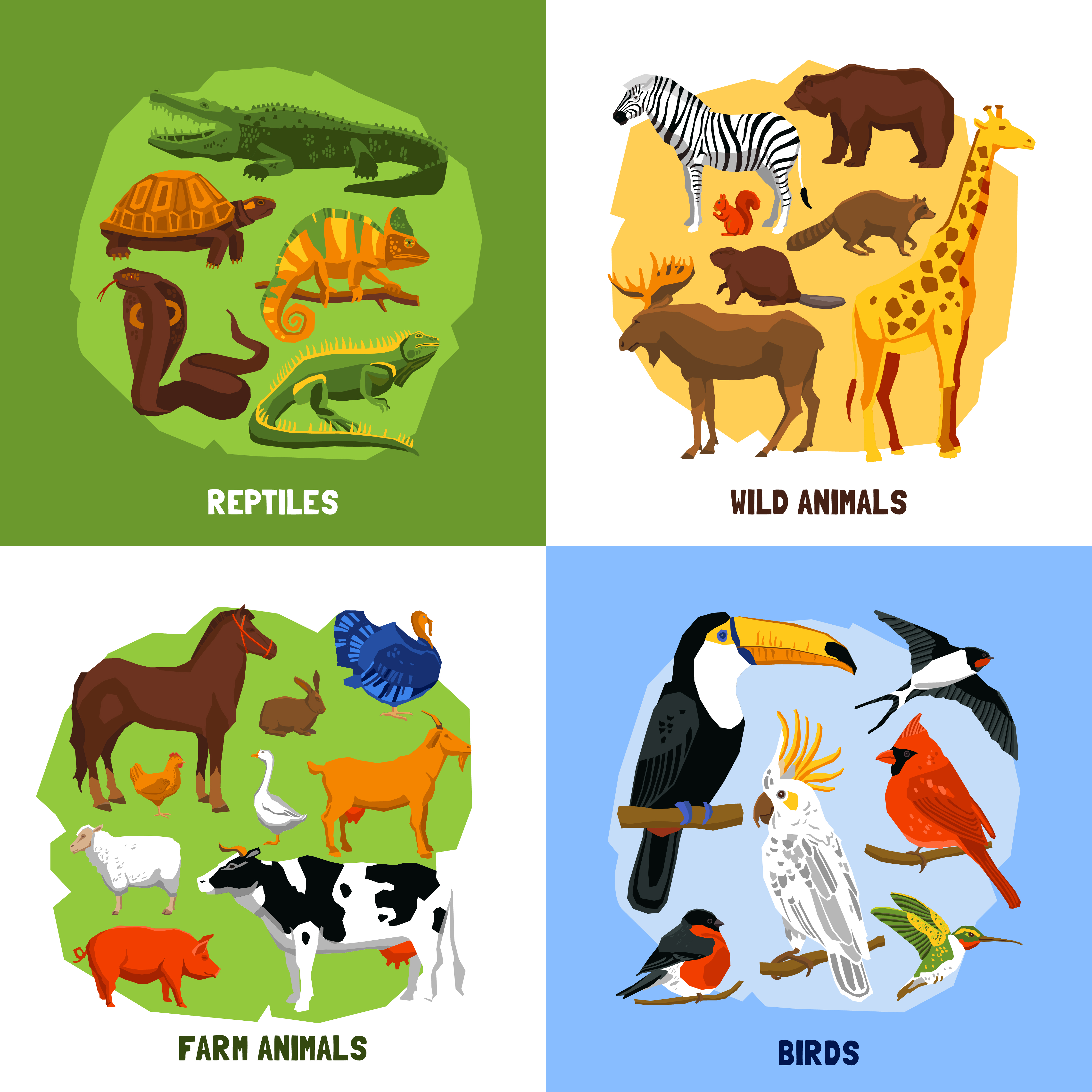Cartoon 2x2 Zoo Images - Download Free Vectors, Clipart ...