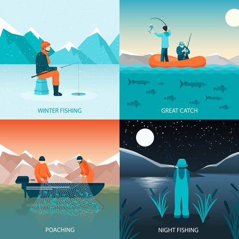 Fishing 2x2 Design Concept