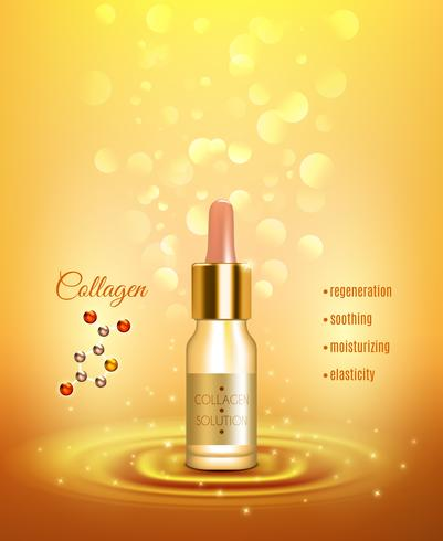 Collagen Hydration and Moisturizing Solution Poster