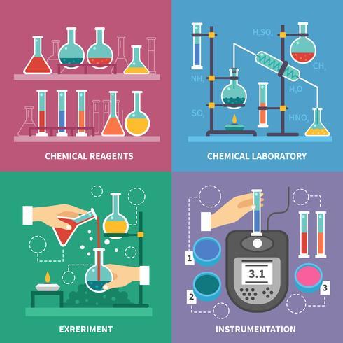 kemisk laboratorie koncept