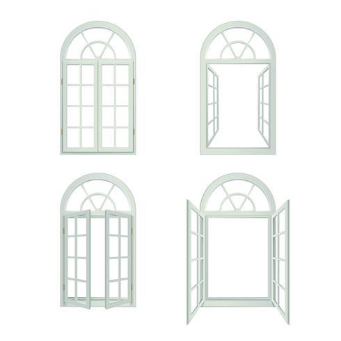 Conjunto realista de arcos de Windows