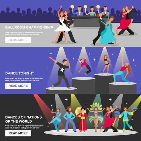 Dance Banner Flat