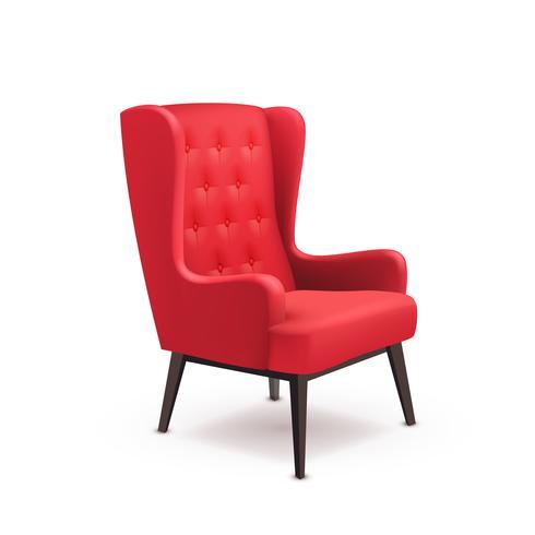 Icono de silla realista