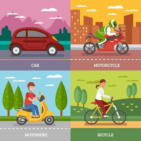 Concept de transport personnel