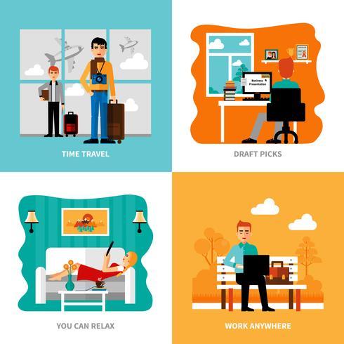 Preferenze del set Freelance