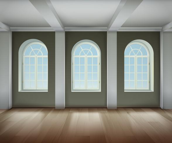 Kamer interieur illustratie