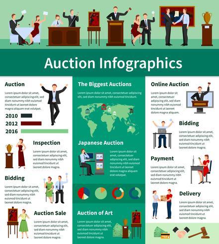 Weltweite flache Infografik-Fahne