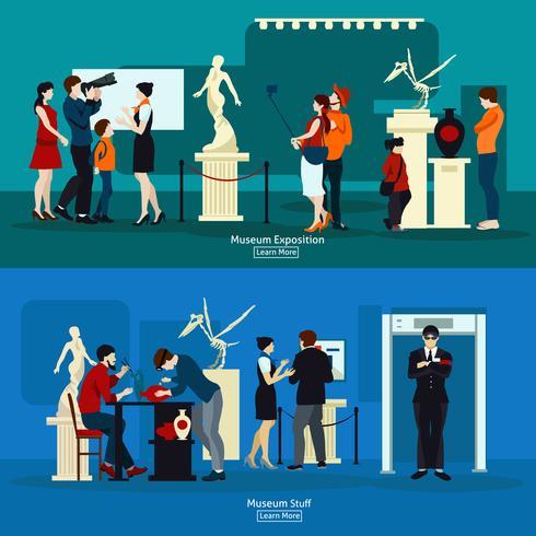 museumsprodukter och galleriutställning