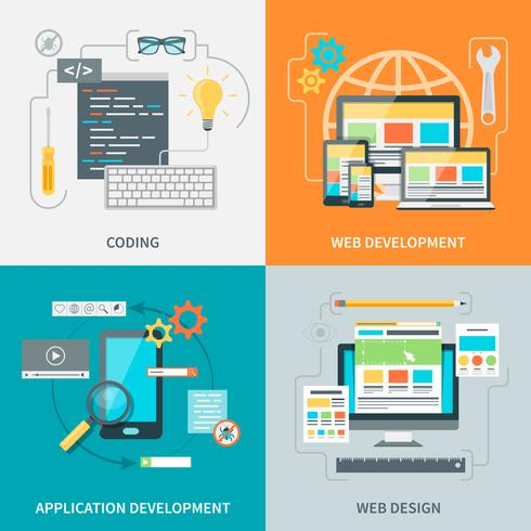 Website-ontwikkeling Picture Set