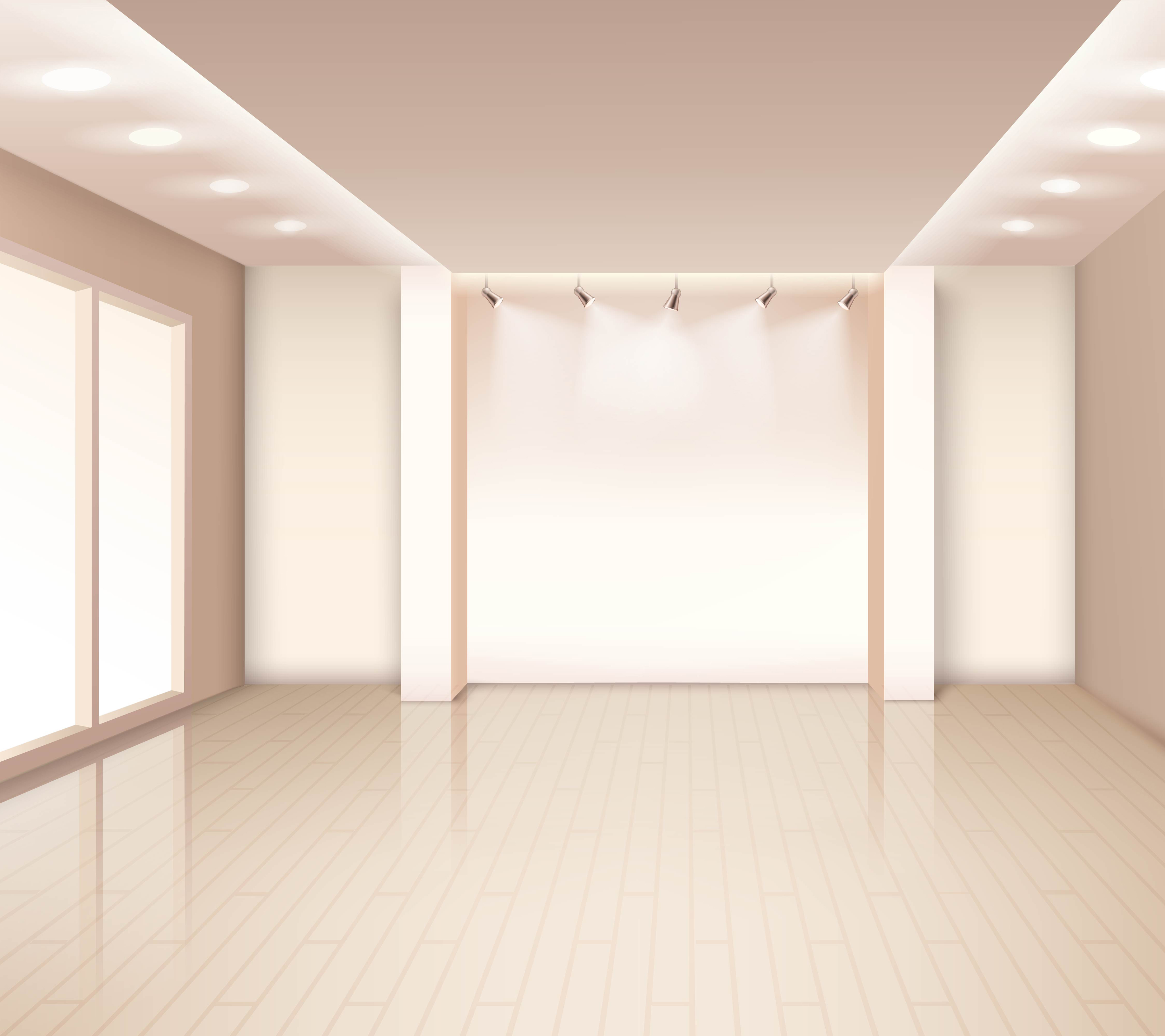 Empty Modern Room Interior Download Free Vectors Clipart Graphics Amp Vector Art