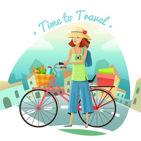 Zeit zu reisen, Illustration