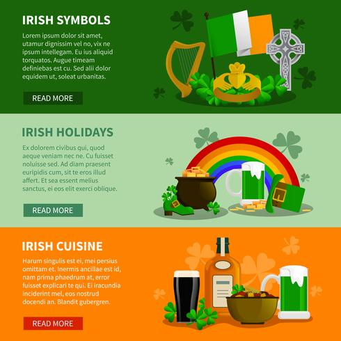 Bandiere orizzontali Irlanda