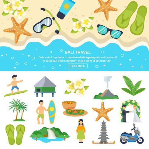 Konzept Bali-Reise