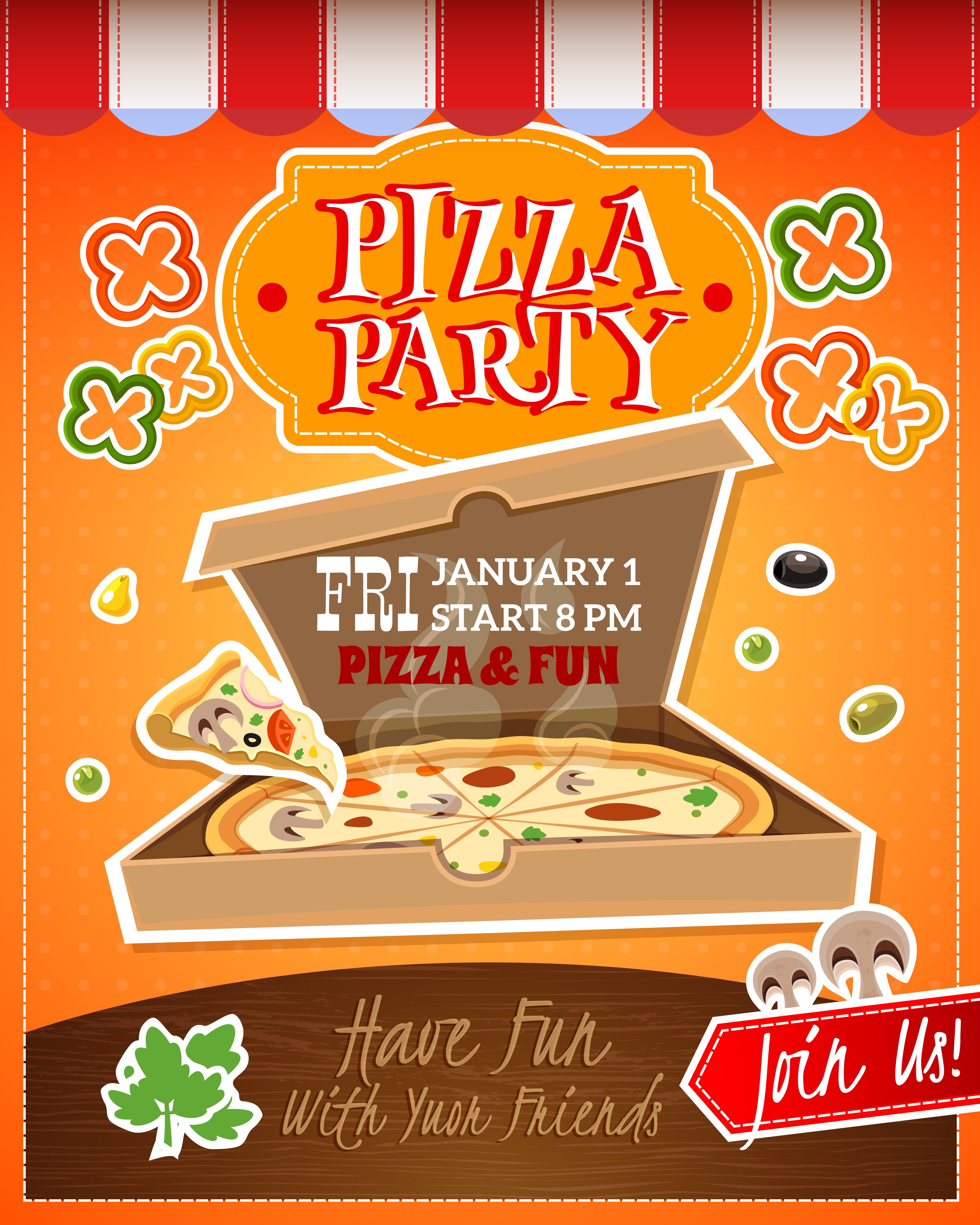 Pizza Logo Illustration