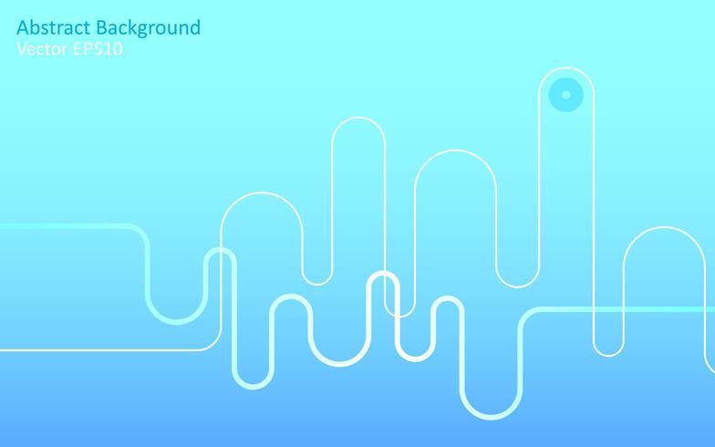 Fond de vecteur abstrait bleu clair
