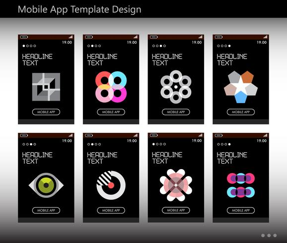 Mobile App-Template-Design