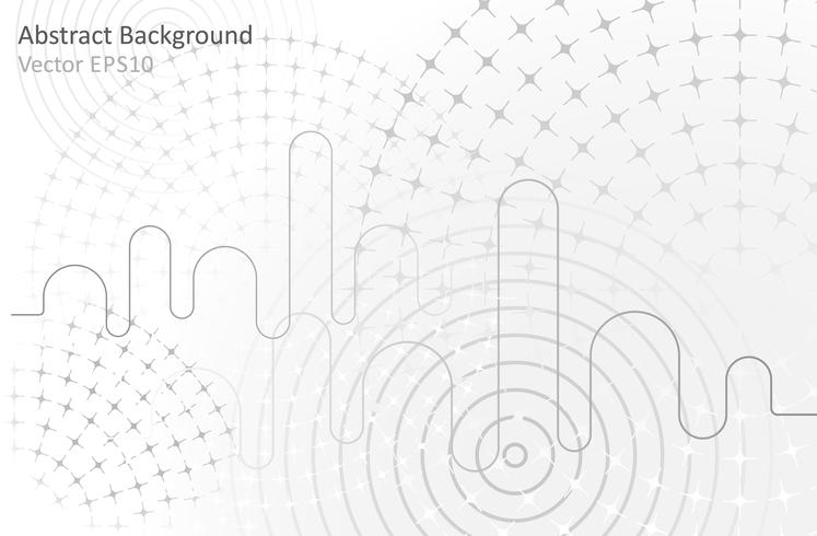 Overwhite abstract vector background