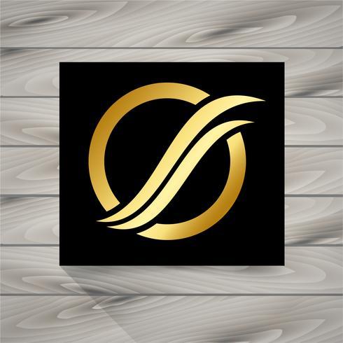 goldenes Logo