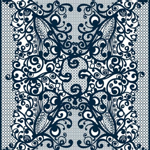 Infinitamente empapelado, decoración para su diseño, lencería y joyería. vector