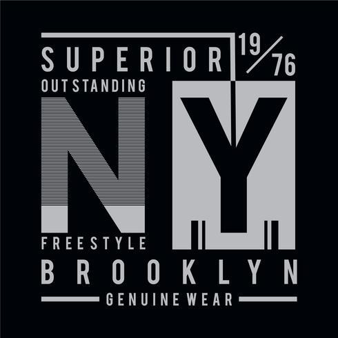 Diseño de camiseta estilo libre tipografía gráfica.