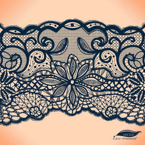 Mallram design. Lace Doily.