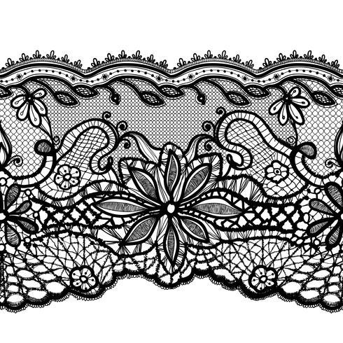 Vector Lace Doily. Puede ser utilizado para el embalaje, invitaciones y plantilla