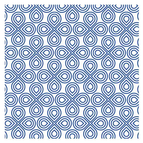 Patrón Azul Diseño 23