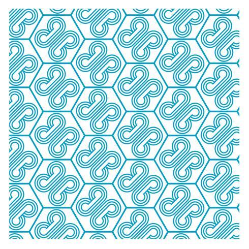 Blå mönsterdesign 24
