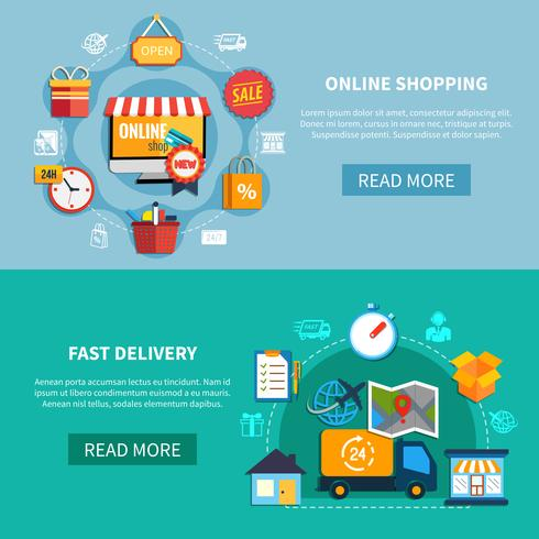 E-commerce banner instellen