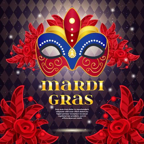 Karneval-Party-helles Plakat