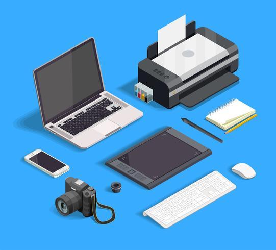 Set de design graphique