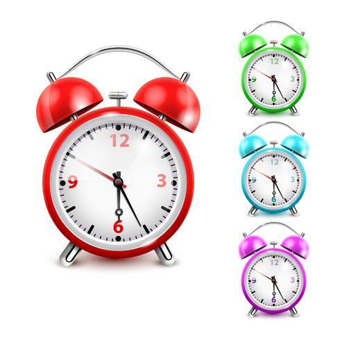 Alarm Clock Icon Set