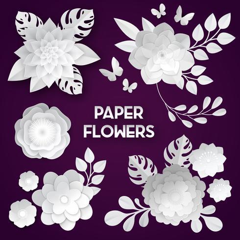 Livro Branco Flores Fundo Escuro