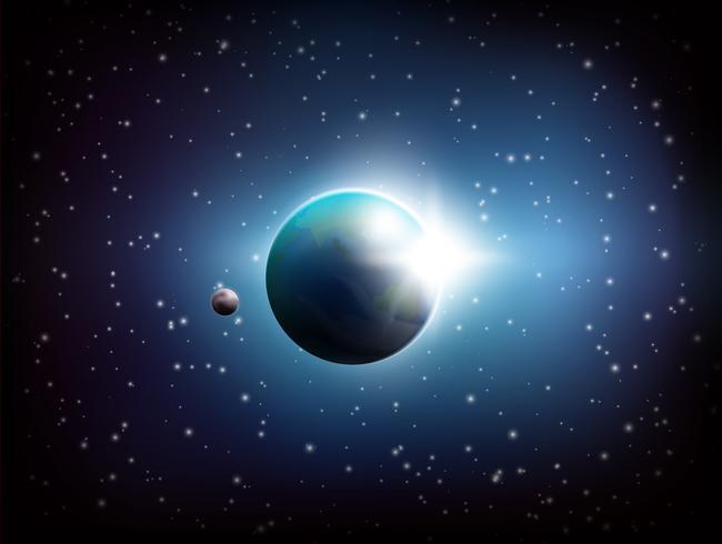 Dark Space Hintergrund