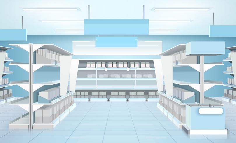 Supermarket Inredning Design Sammansättning