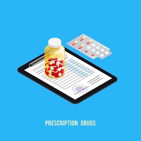 Pillen Rezept Apotheke Hintergrund