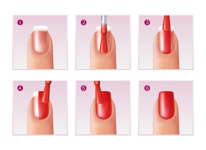 manicure processet