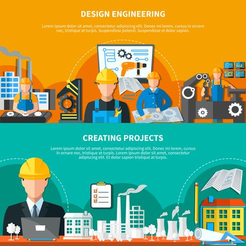 Industrial Design Banners Collection