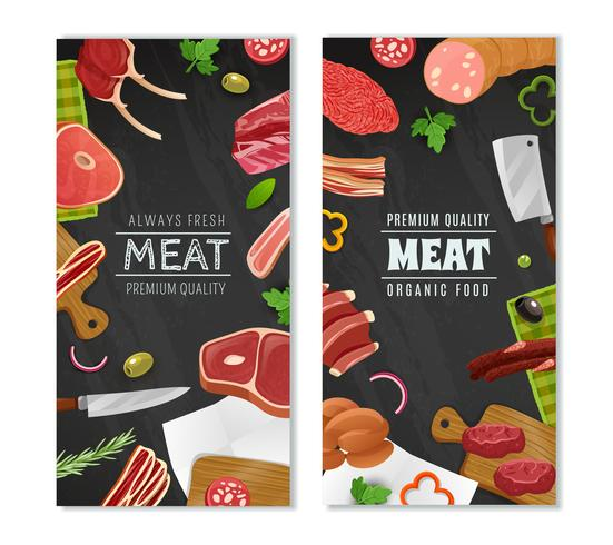 Fleischmarkt Banner Set