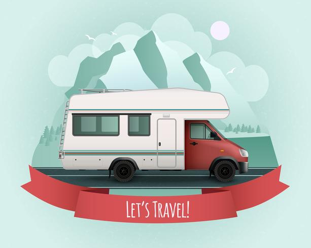 Recreational Vehicle Poster