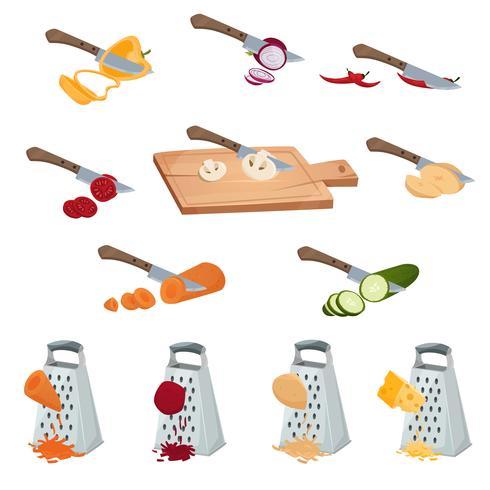 Set di preparazione di verdure